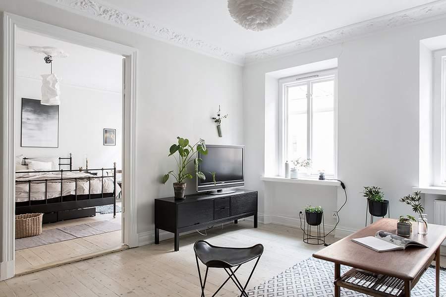 Thiết kế chung cư 100m2 3 phòng ngủ cho phòng khách có điểm nhấn