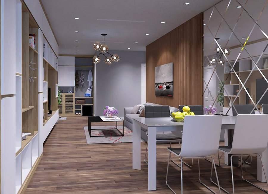 Thiết kế nội thất nhà nhỏ đẹp 15m2