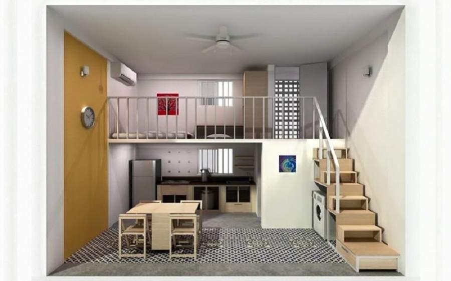 Thiết kế nhà nhỏ đẹp 15m2