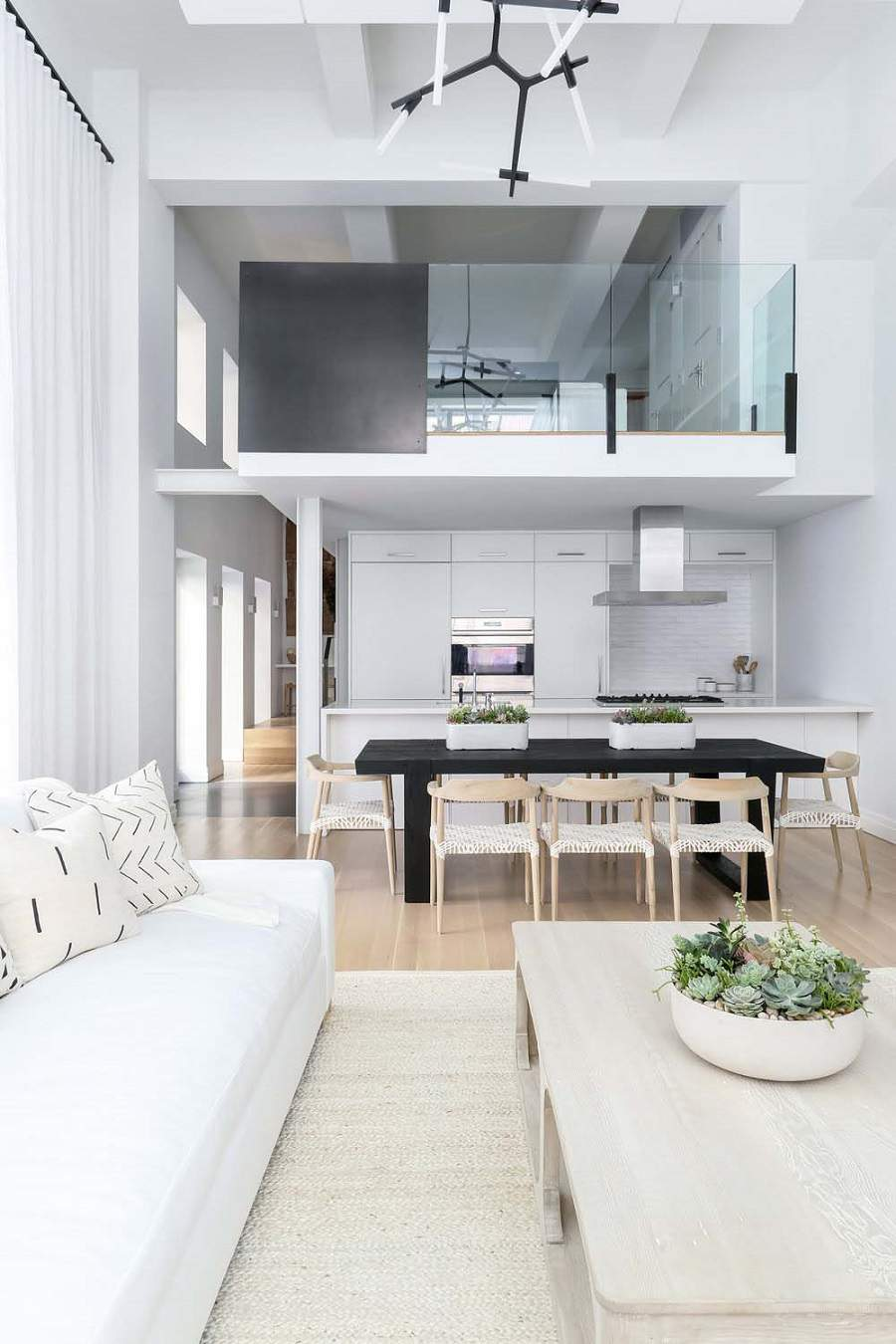 kiến trúc nhà rộng 7m không gian phòng bếp