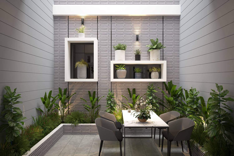 Mẫu thiết kế ban công cho nhà chung cư đẹp đẳng cấp