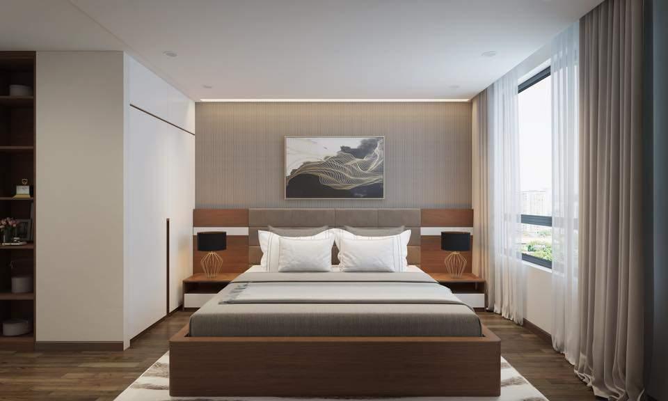 Mẫu thiết kế phòng ngủ đẹp hiện đại theo phong cách Hàn Quốc
