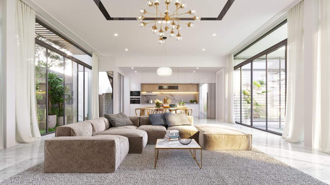 Mẫu thiết kế phòng khách đẹp và ấn tượng