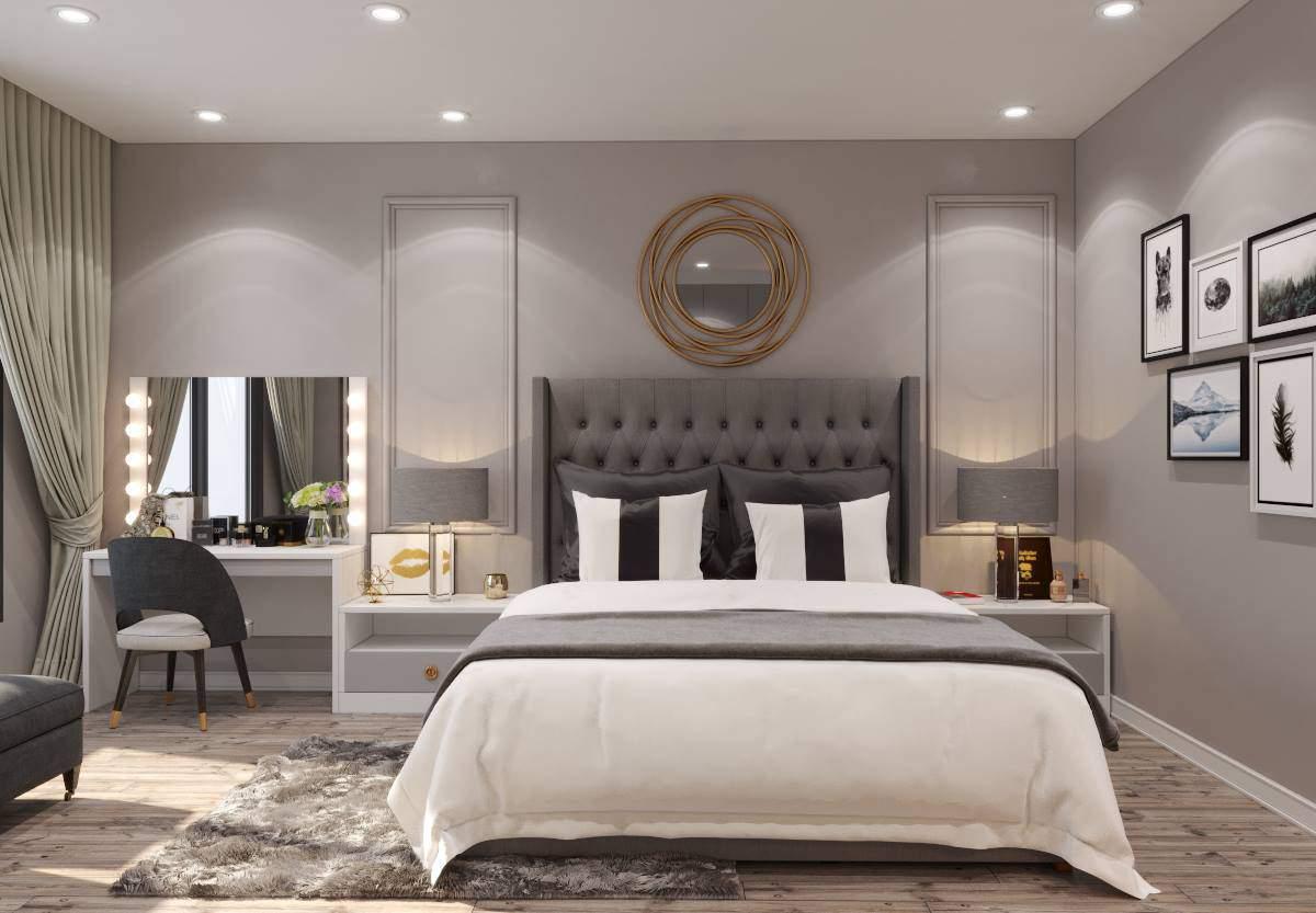 Hướng dẫn kê giường ngủ hợp phong thủy