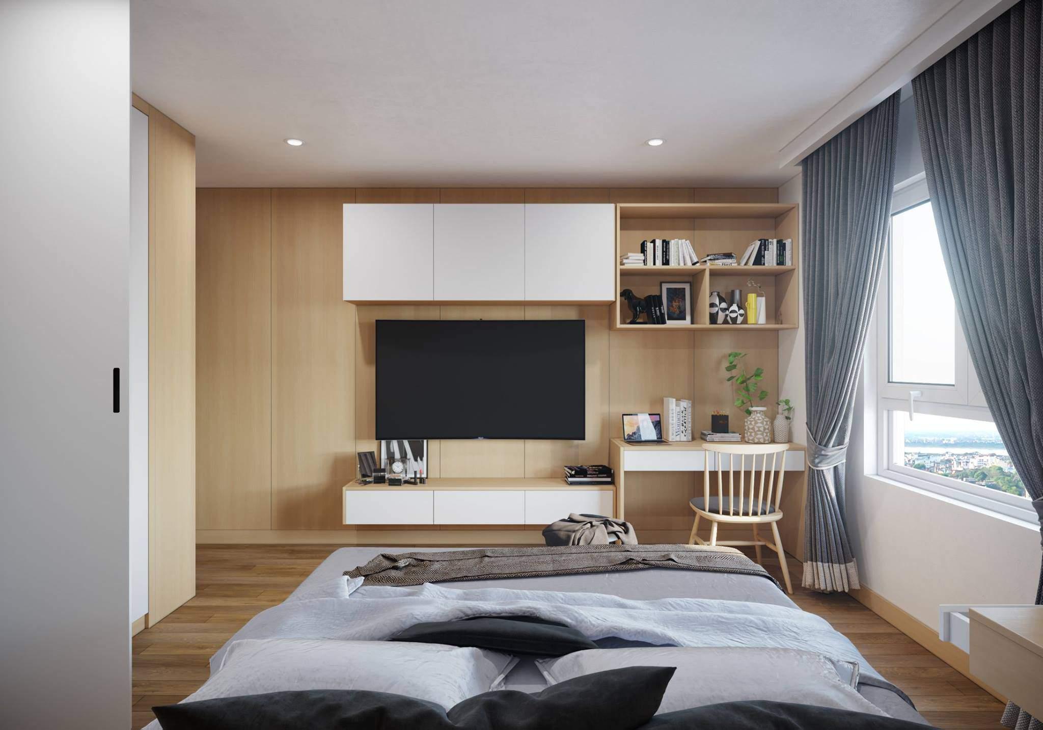 Thiết kế phòng ngủ theo hướng hợp với người mệnh kim