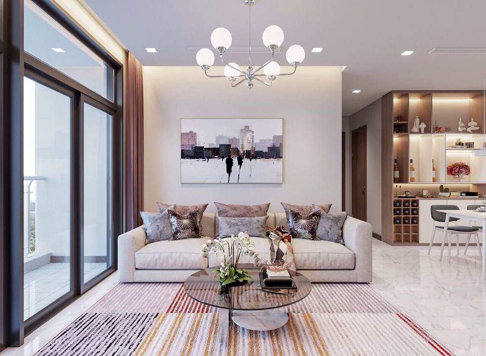 Mẫu trang trí phòng khách nhỏ đẹp và tiện nghi