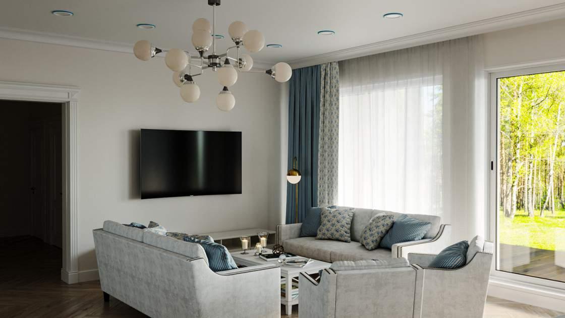 Mẫu thiết kế phòng khách không gian mở đẹp và tiện nghi nhất