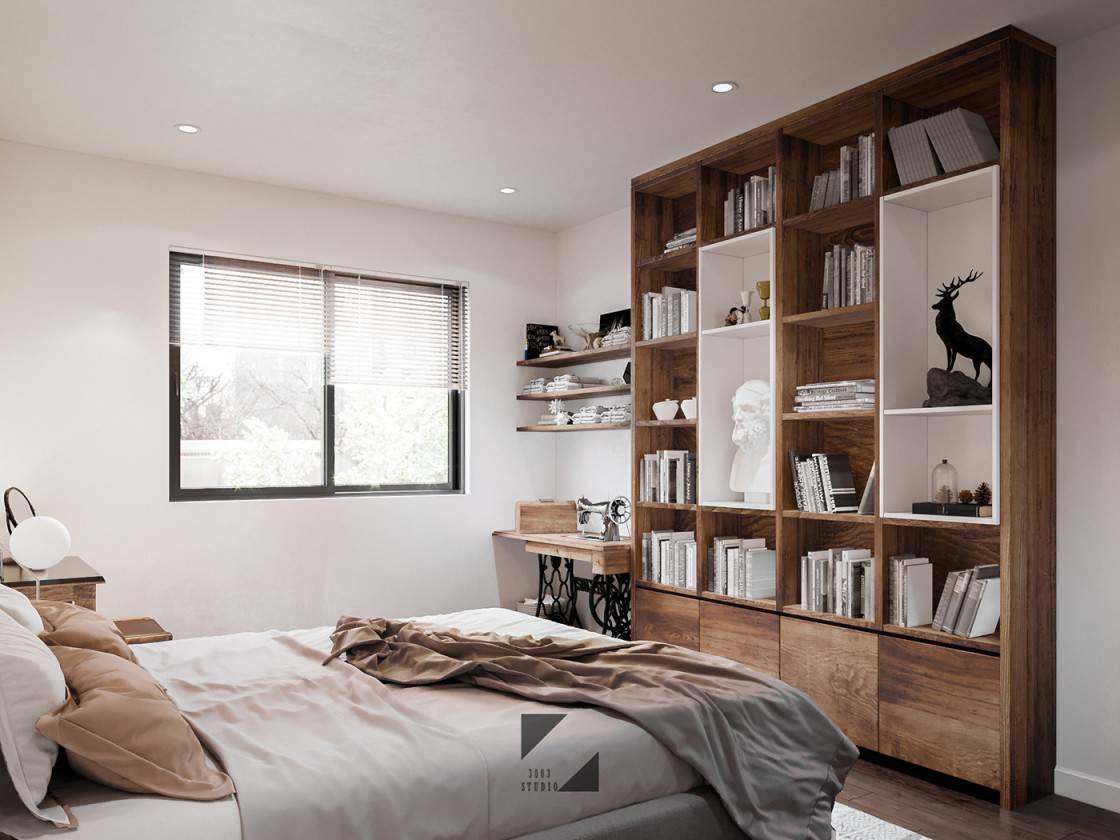 Trang trí phòng ngủ đón mùa đông đẹp với không gian ấm cúng