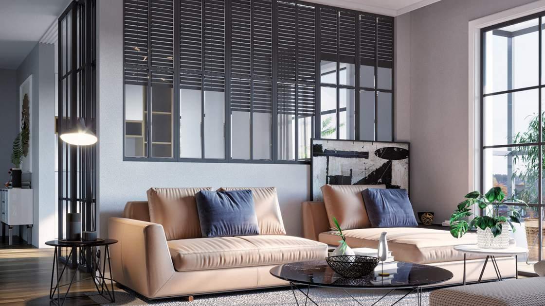 Trang trí phòng khách đẹp mới lạ với bộ bàn ghế hiện đại