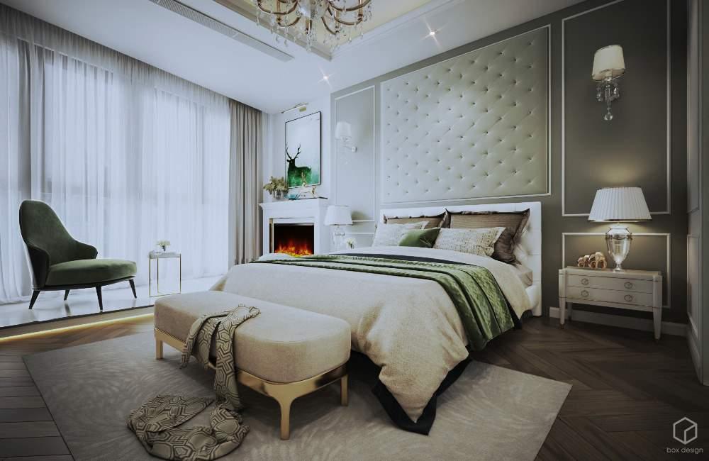 Thiết kế phòng ngủ nhỏ đẹp với nội thất hiện đại