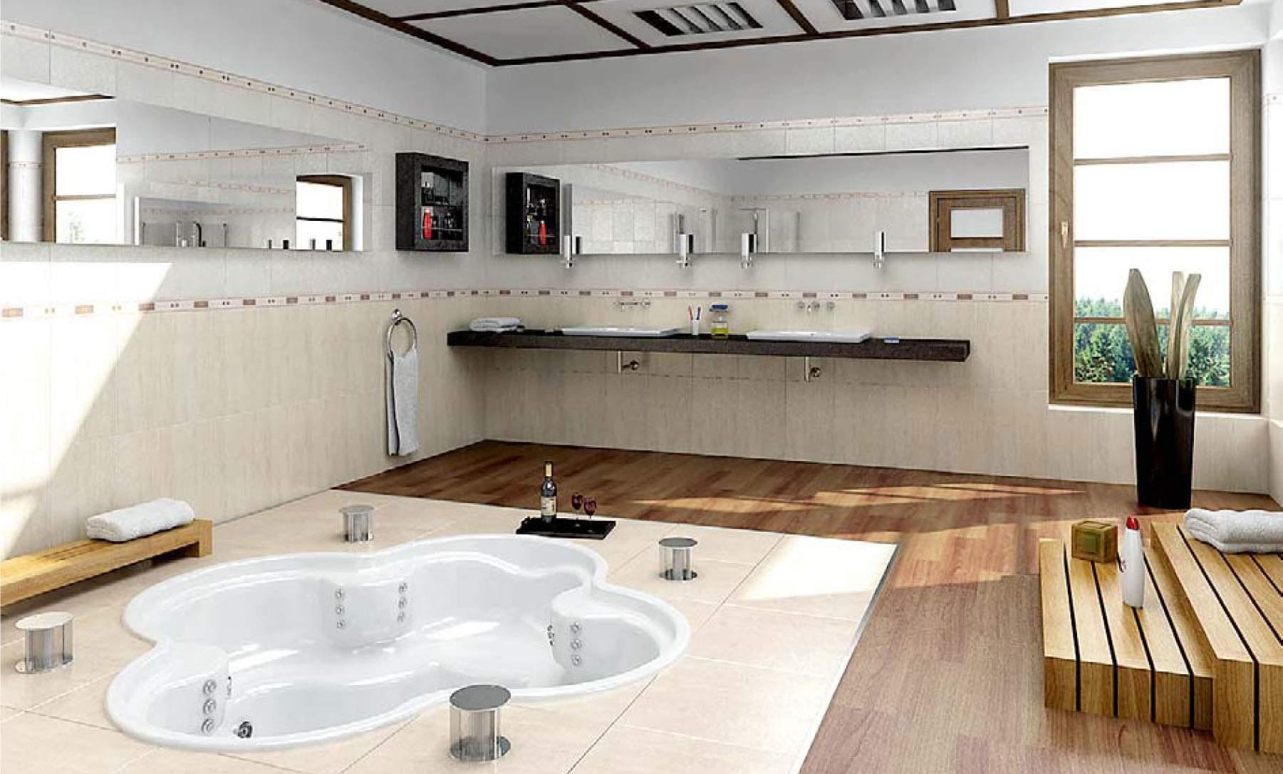 Phòng tắm hiện đại và tiện nghi