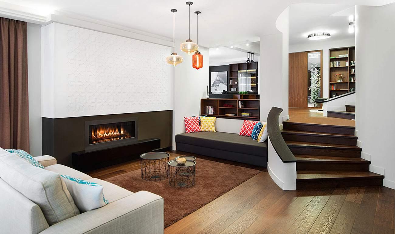 thiết kế nội thất biệt thự với tông màu nhã nhặn
