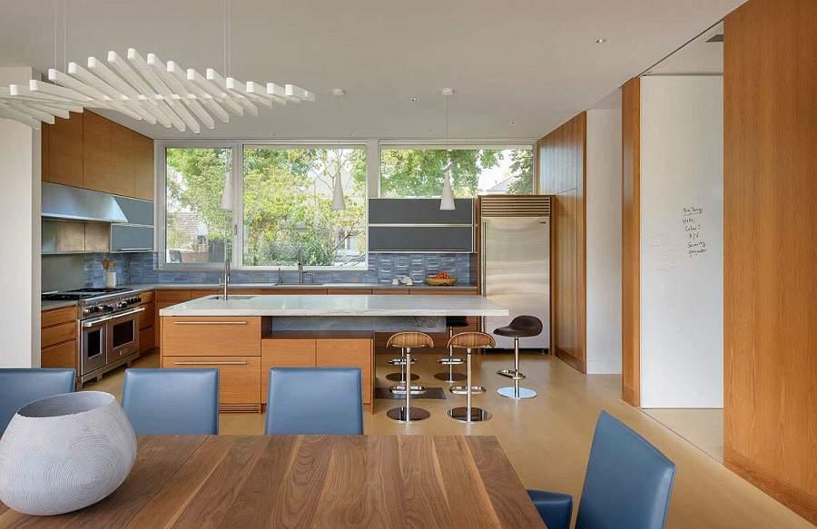 Thiết kế nội thất biệt thự hiện đại có bể bơi tiện ích