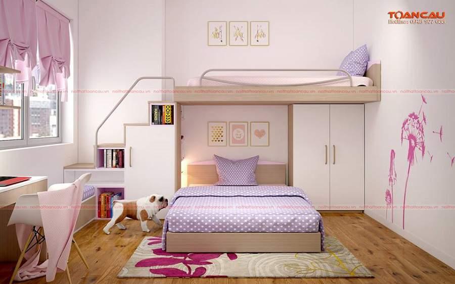 thiết kế nhà nhỏ đẹp đơn giản cho bé