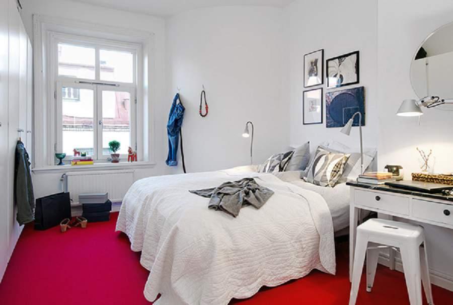 Thiết kế nội thất căn hộ chung cư 75m2  cho phòng ngủ cha mẹ