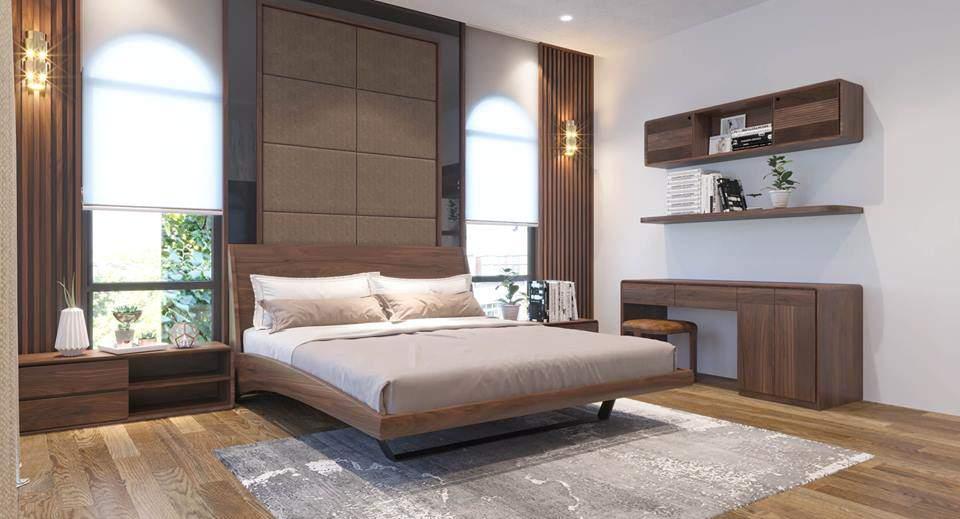 Thiết kế nội thất căn hộ Vinhome Hải Phòng cho căn phòng ngủ nhỏ