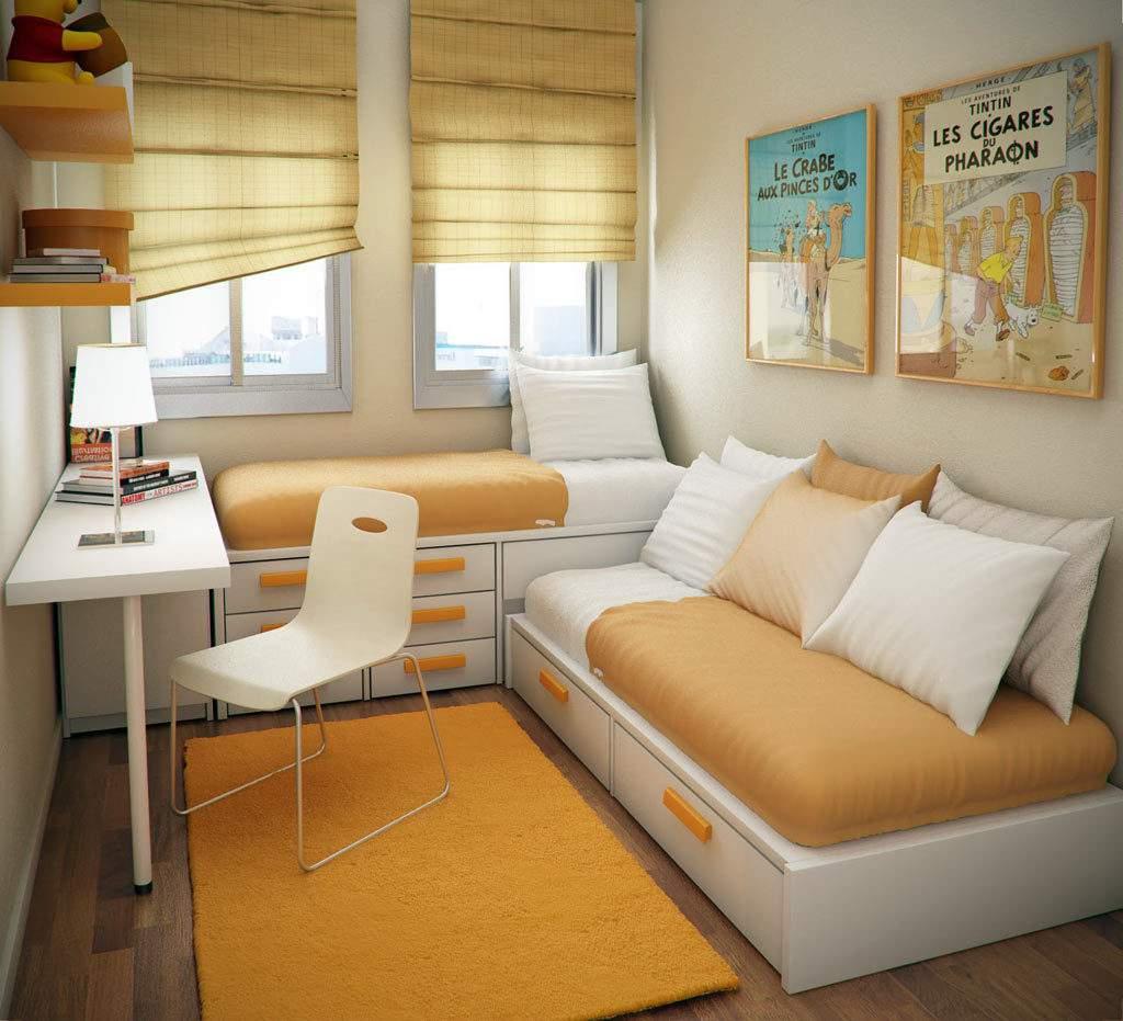Thiết kế nội thất chung cư 2 phòng ngủ tinh tế
