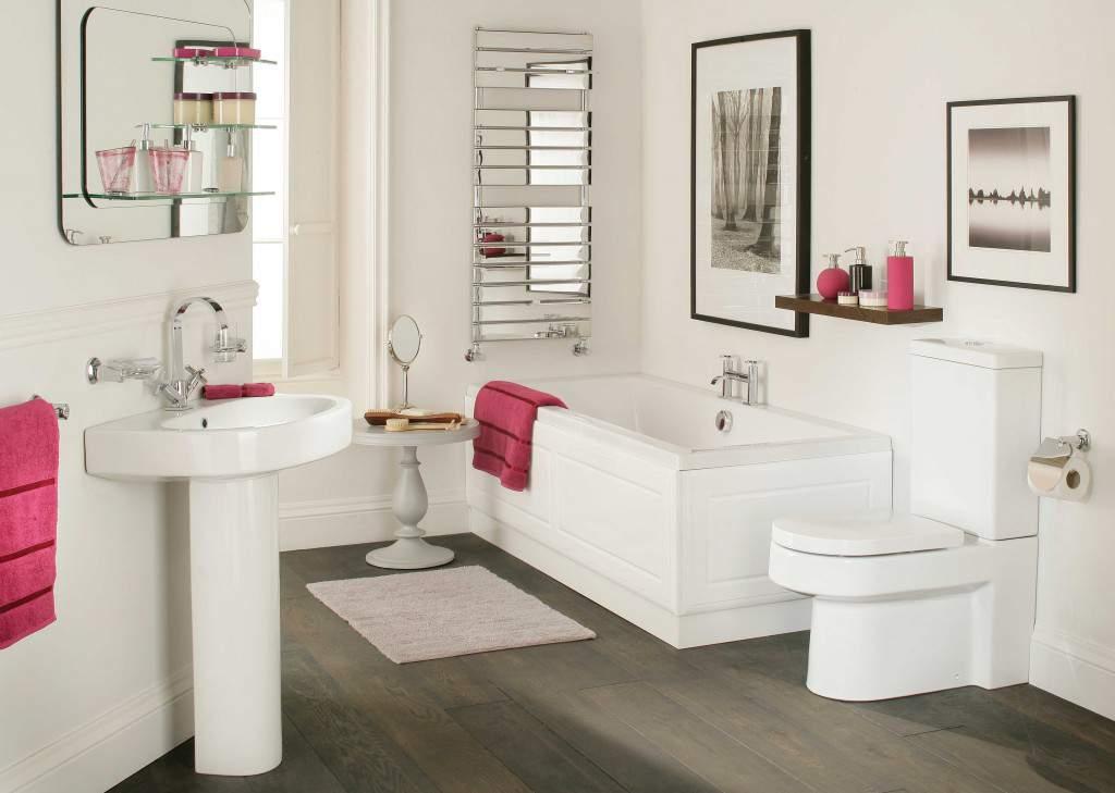 thiết kế nội thất biệt thự phòng tắm lịch sự