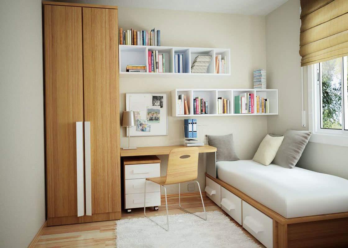 thiết kế căn hộ chung cư 45m2, thiết kế nội thất chung cư 45m2 cho phòng ngủ hiện đại