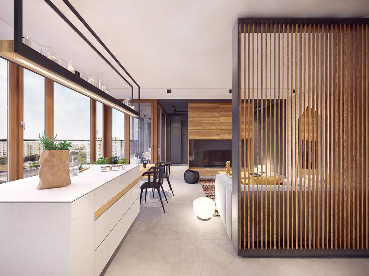 thiết kế nội thất chung cư 45m2 đẹp