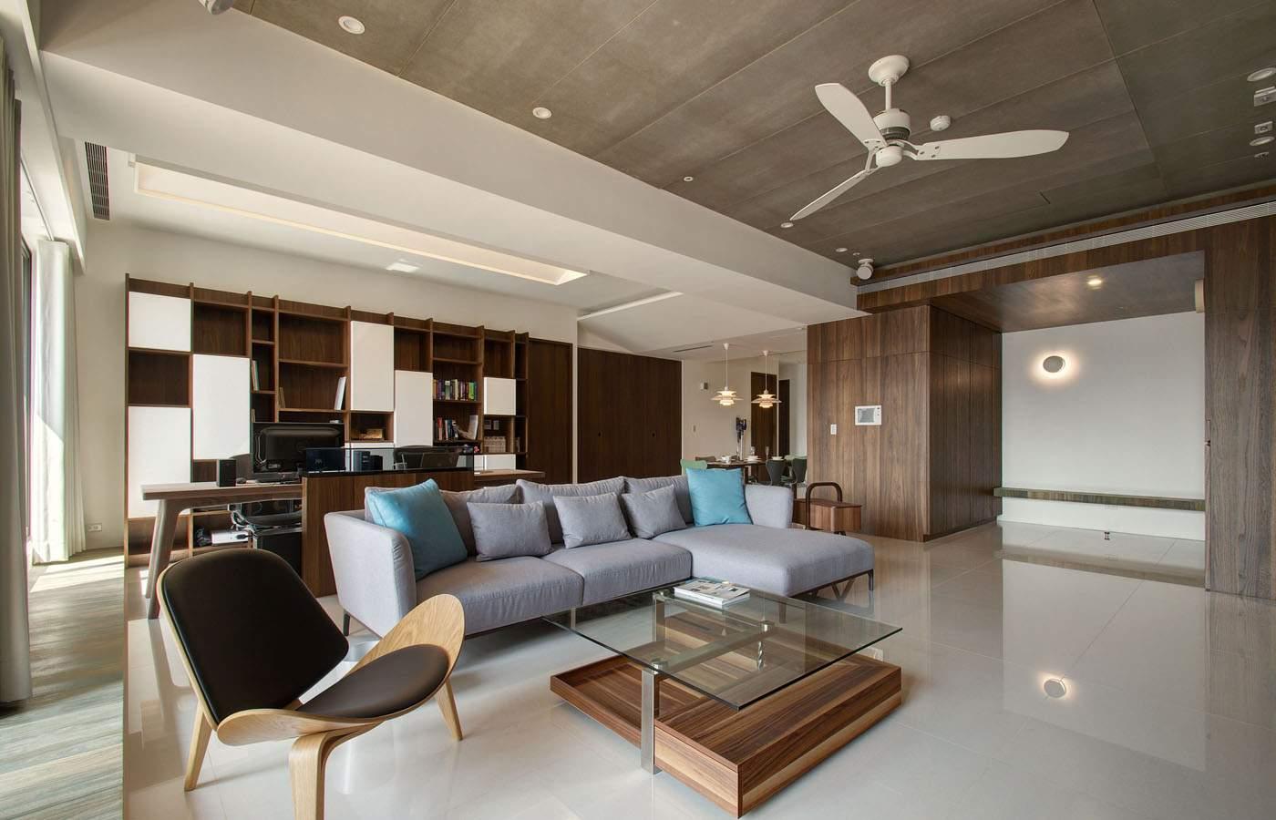 thiết kế nội thất chung cư 45m2 tiện ngh