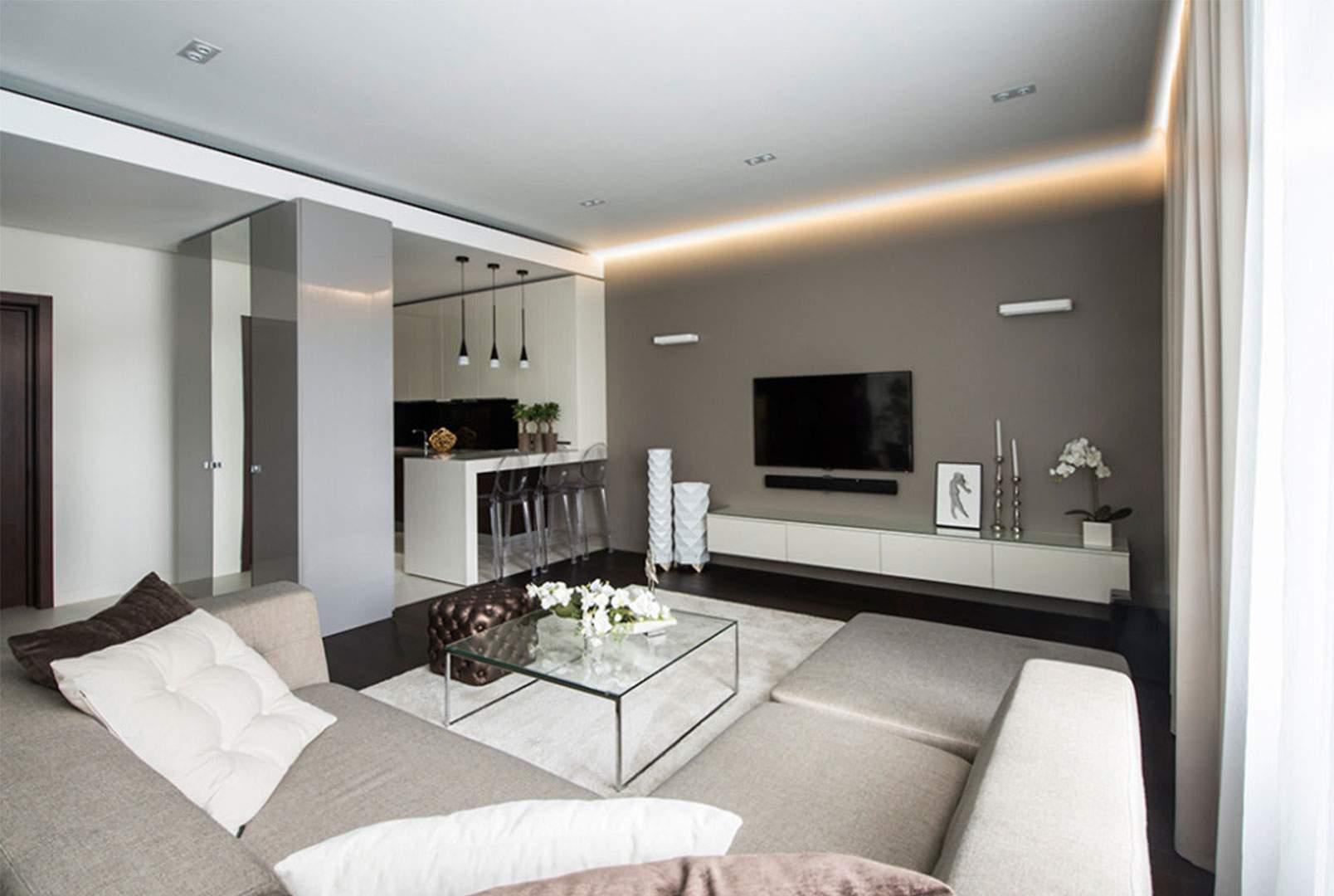 thiết kế nội thất chung cư 45m2 tinh tế