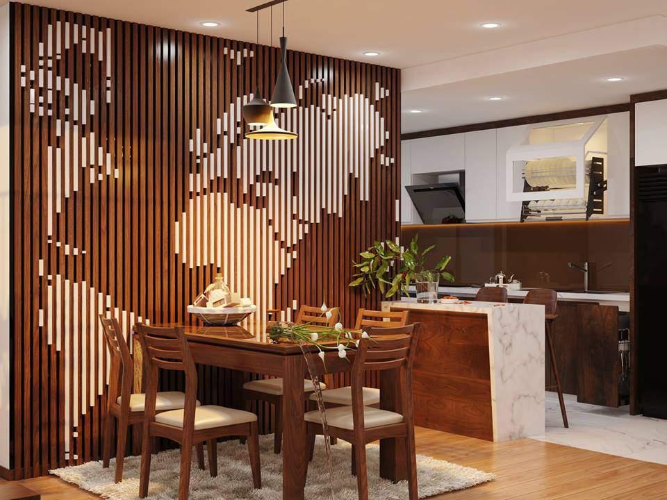 thiết kế nội thất chung cư 70m2, thiết kế chung cư 70m2 đẹp tinh mới