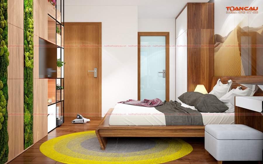 Hướng giường ngủ tính đầu hay chân hợp lý