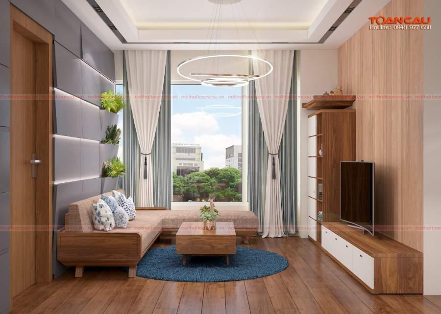 Cách trang trí phòng khách đơn giản tiện nghi