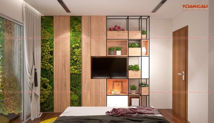 Nhà đẹp diện tích nhỏ 40m2 cho căn phòng ngủ
