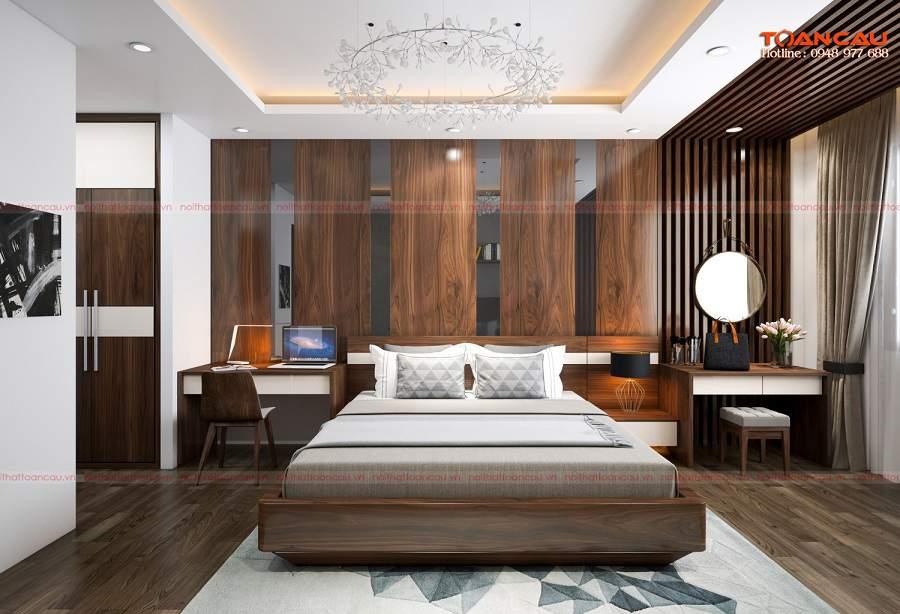 Mẫu nhà đẹp 1 tầng giá rẻ cho căn phòng ngủ cha mẹ