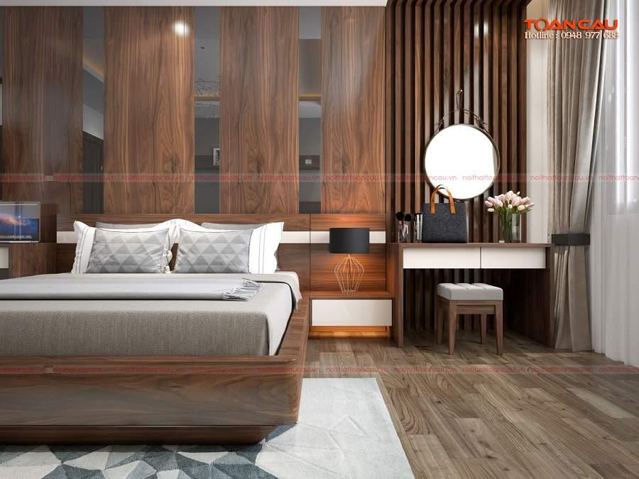 Cách trang trí phòng ngủ hình vuông đơn giản mà đẹp