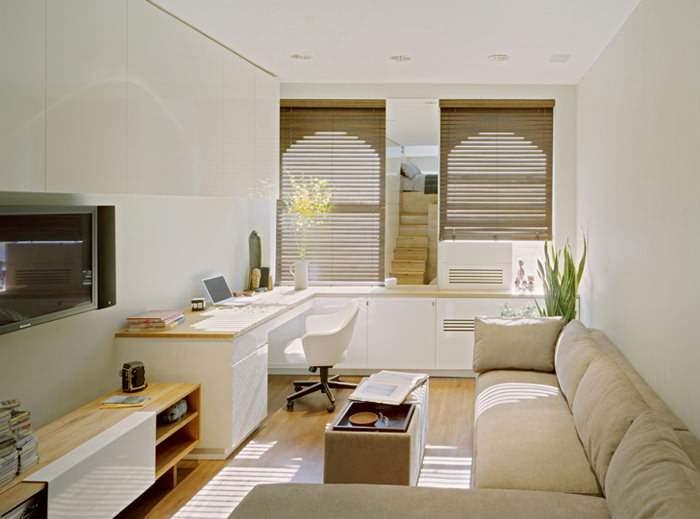 Thiết kế căn phòng nhỏ tiện nghi