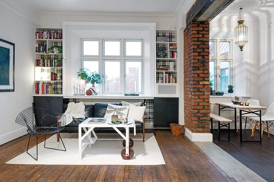 Thiết kế căn phòng nhỏ tinh tế