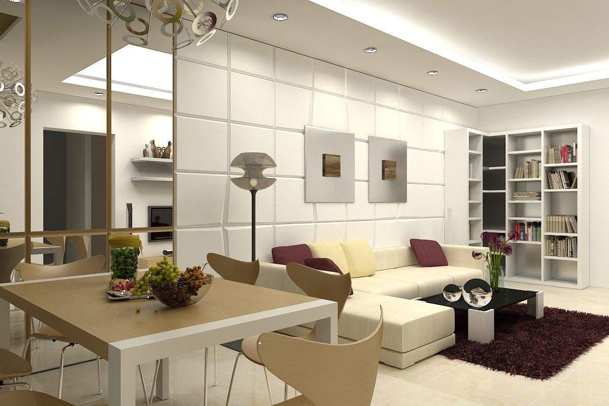 thiết kế nội thất nhà chung cư nhỏ cho không gian phòng đẹp