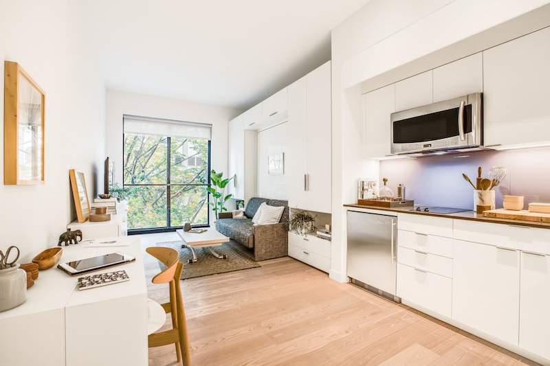 thiết kế căn hộ diện tích nhỏ hiện đại