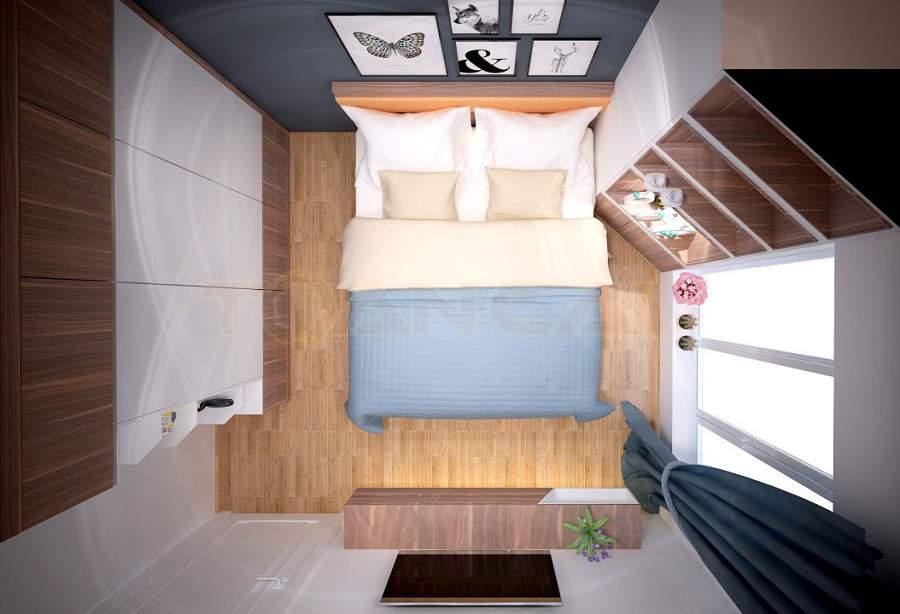 Trang trí phòng ngủ dễ thương phù hợp với xu hướng nội thất