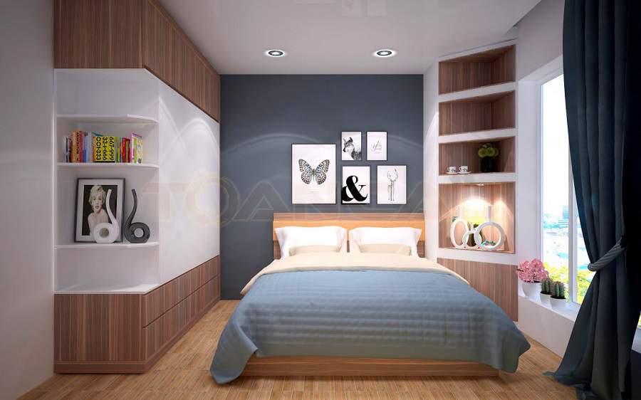 Mẫu thiết kế nhà diện tích nhỏ 20m2 phòng bé trai