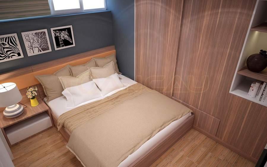 Cách bố trí phòng ngủ theo phong thủy rất tiện dụng