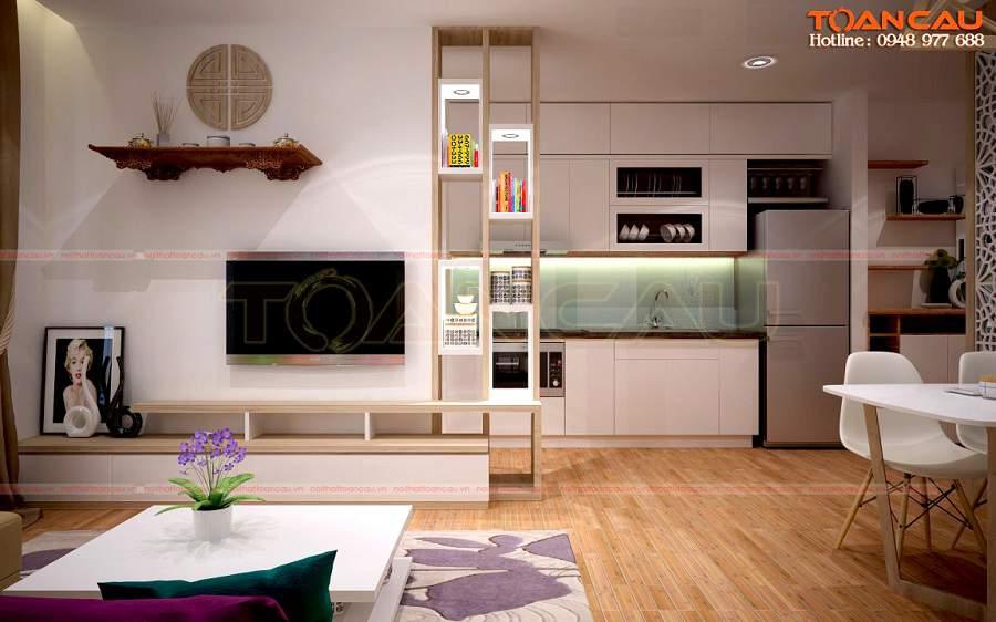 trang trí phòng khách đơn giản cho nhà xinh