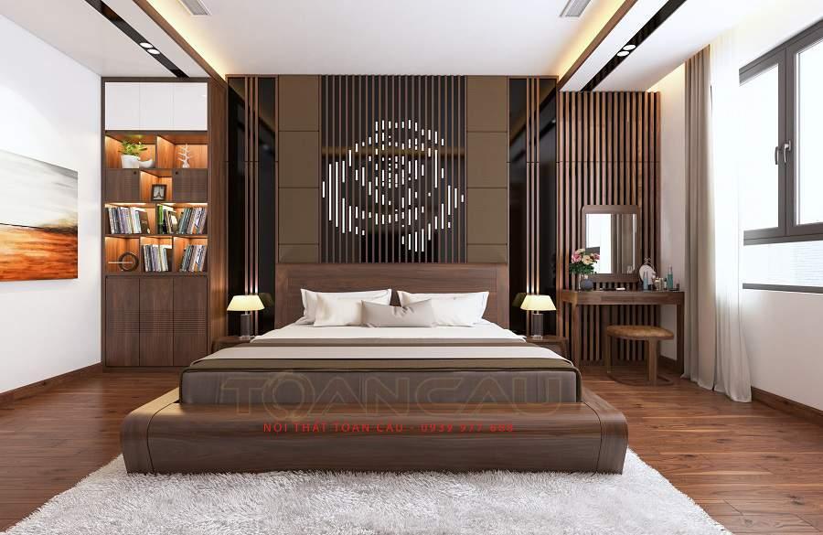 Để gương đối diện giường ngủ