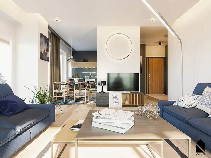 Thiết kế nội thất chung cư tại Hải Phòng tạo không gian hiện đại