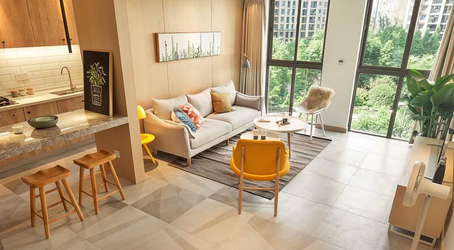 Mẫu thiết kế nội thất chung cư tại Quảng Ninh phong cách tối giản
