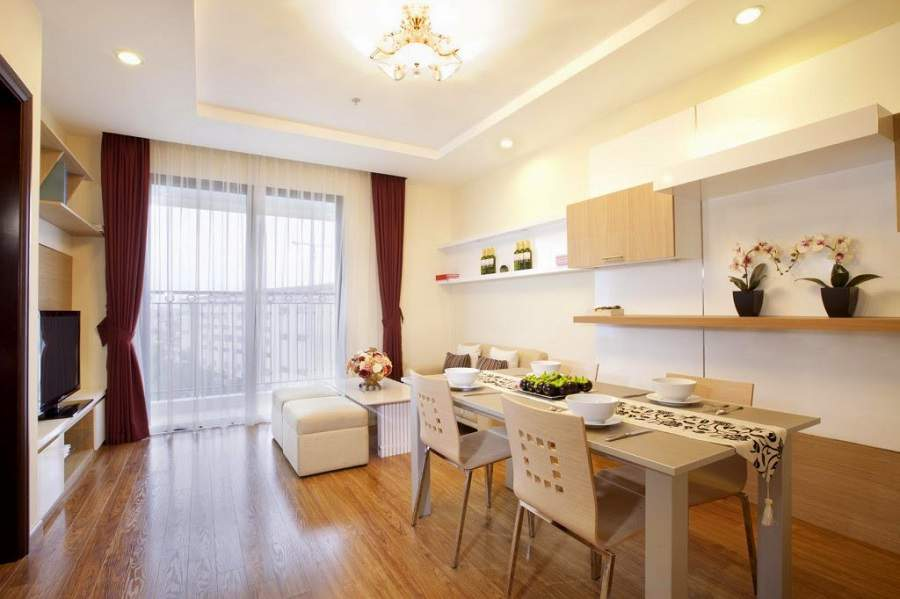 Thiết kế nội thất chung cư times city đẹp tinh tế
