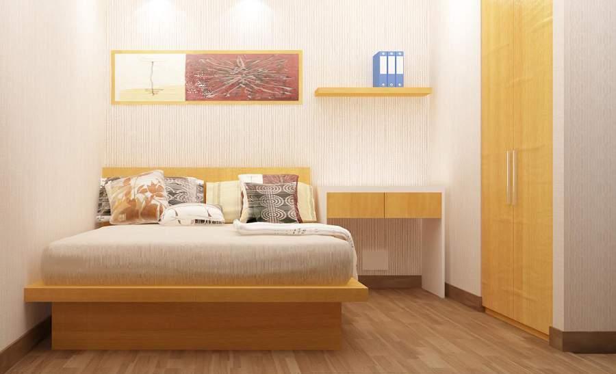 Thiết kế nội thất chung cư times city cho phòng cha mẹ