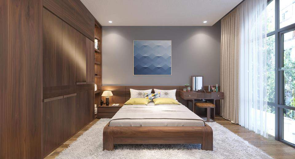 Thiết kế nội thất căn hộ Vinhome Hải Phòng đẹp cho căn phòng nhỏ