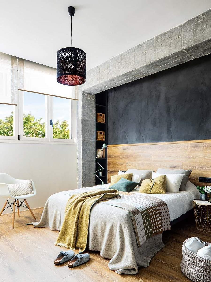 thiết kế nhà 50m2 3 tầng cho phòng ngủ cha mẹ