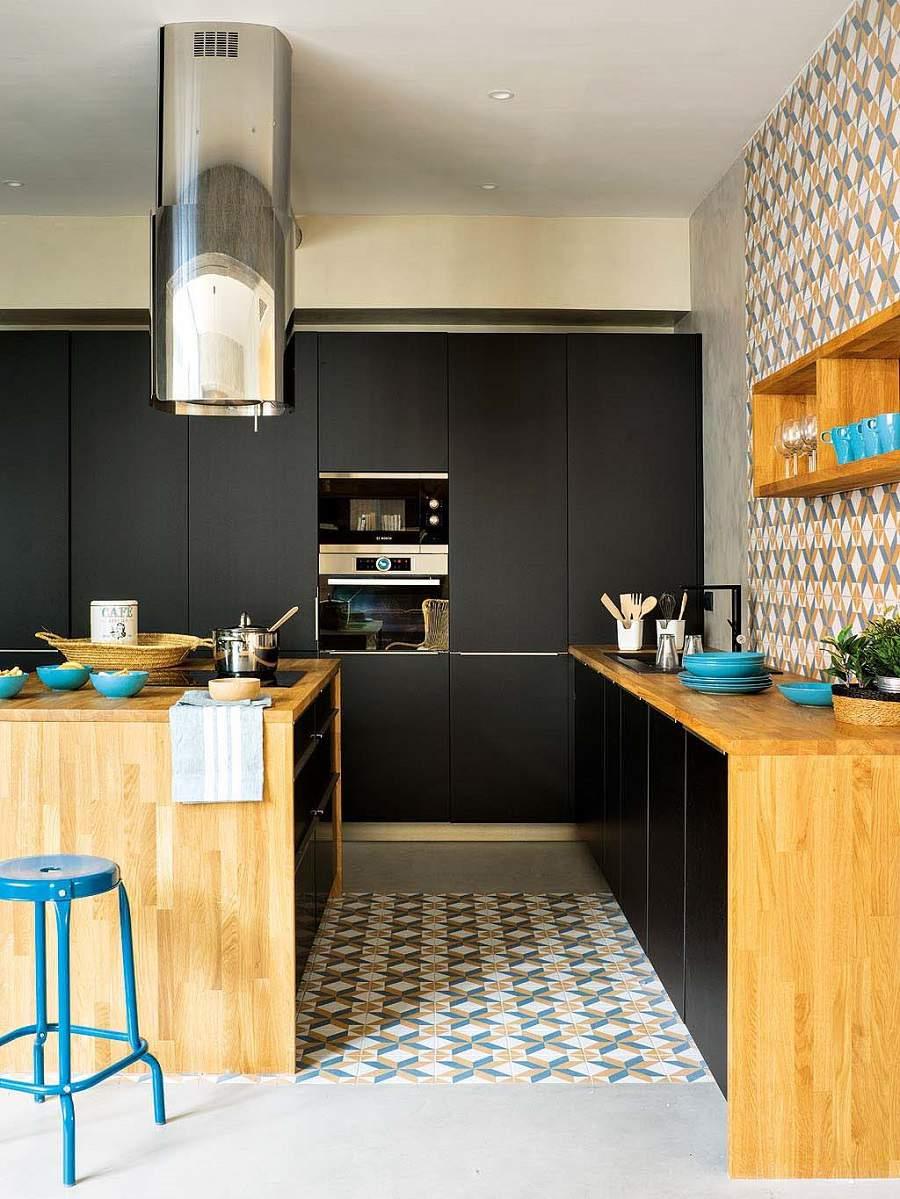 thiết kế nhà 2 tầng 50m2 cho phòng bếp