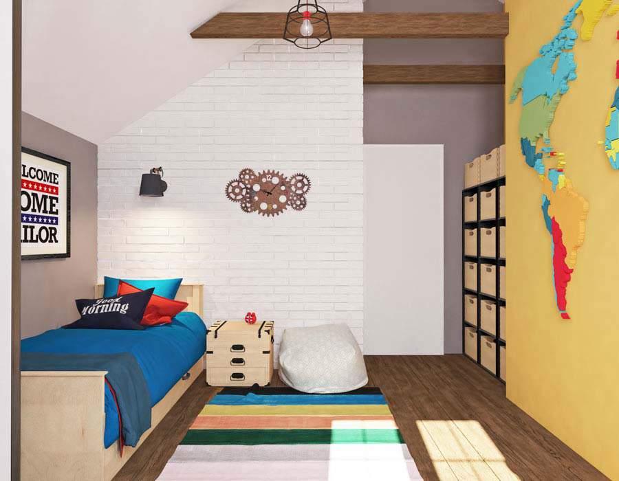 Thiết kế nội thất nhà phố diện tích nhỏ hiện đại