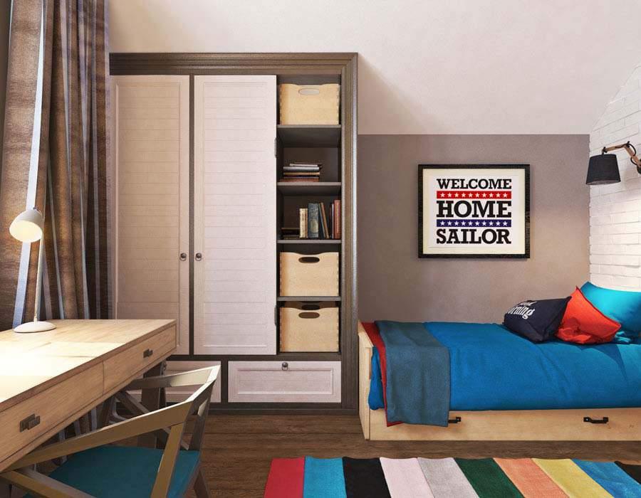 Thiết kế nội thất nhà phố diện tích nhỏ rất tiện dụng